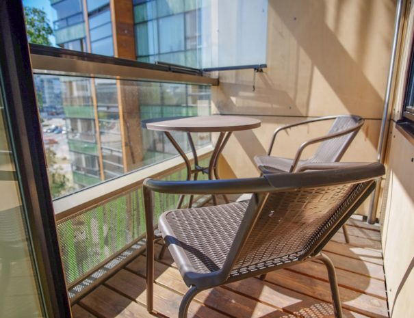 7. Dream Stay - City View Studio with Balcony