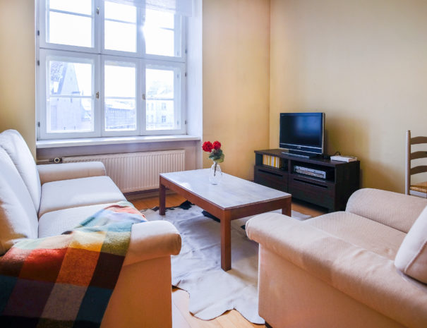 1. Dream Stay - Town Hall Square View Apartment with Sauna