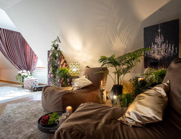 4Dream Stay - Rataskaevu Boutique with Balcony _ Fireplace